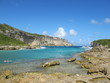 Guadeloupe sea view beach travel destination landscape in a French overseas region, is an island group in the southern Caribbean Sea.