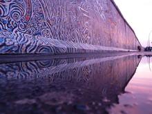 Est-Side-Gallery, Sonnenuntergang, Berlin