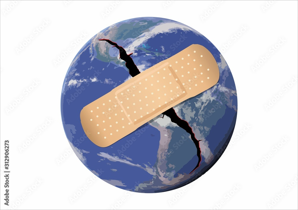 Fototapeta Earth Day