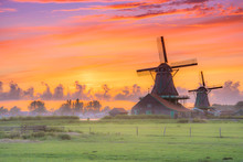 Traditional Village With Dutch...