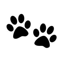 Animal Paw Prints Isolated