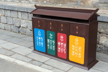 Different Colored Bins For Col...