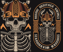 Vector Illustration With A Vik...