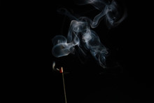 Abstract Background Of Smoke F...