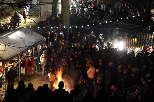 Fotografia Fête du nouvel an au château de Ferrette