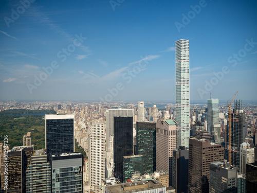 Manhattan, New York City, United States : [ Central park, midtown Manhattan, Bet Canvas Print
