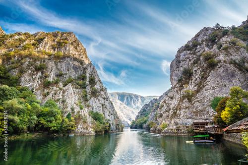 Obraz na plátně Matka Canyon -  Skopje, North Macedonia