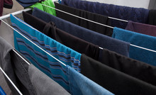 Laundry Clothes Put For Drying