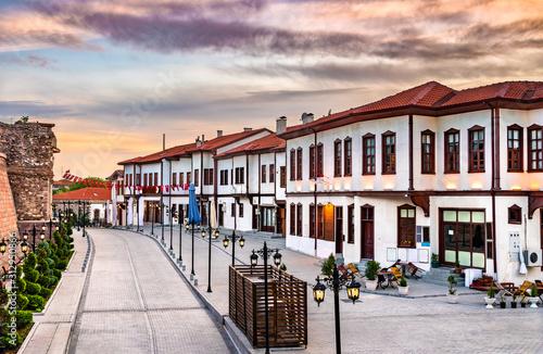 Photo Historic centre of Ankara, the capital of Turkey