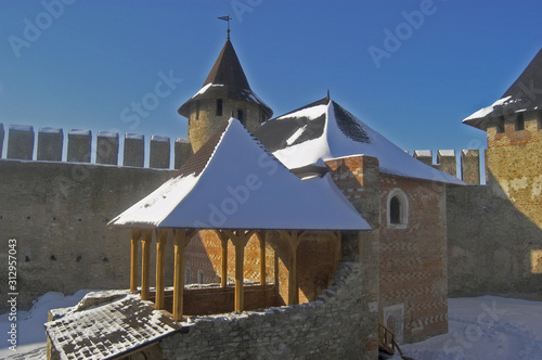 Foto Khotyn fortress - commandant's house