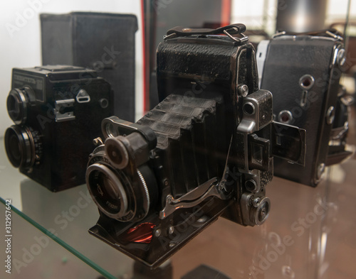 Photo Moskwa-2 - Soviet rangefinder clapper camera