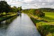 canvas print picture - Canal de Bourgogne