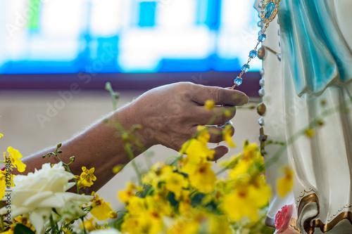 Nossa Senhora de Lourdes Tablou Canvas