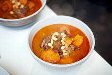 Beef Massaman Curry With Peanuts