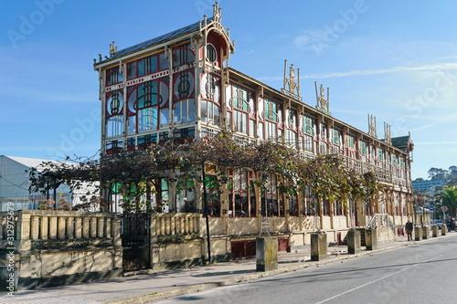 Modernist building 'La Terraza', in the municipality of Sada