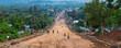 canvas print picture - Jinka town, Naciones, Ethiopia, Africa