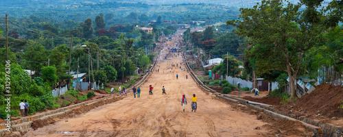 Photo Jinka town, Naciones, Ethiopia, Africa