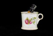 Antique Shaving Mug And Brush