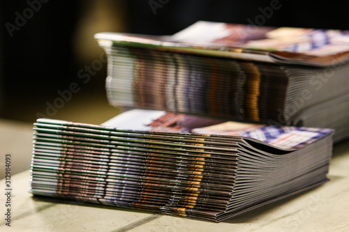 Fototapeta Magazine Stacks