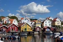 Hälleviksstrand Auf Dr Insel Orust In Schweden