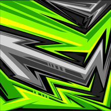 Vector Of Sports Jersey Abstract Arrow Line Graphic Pattern