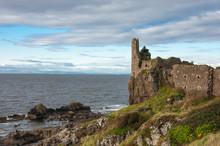 The 13th Century Dunure Castle...