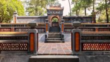 Tomb Of Empress Le Thien Anh In Emperor Tu Duc's Royal Tomb, Hue, Vietnam