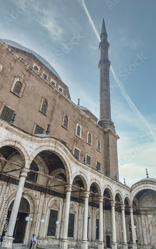 Photo Entry Patio and Minaret Muhammed Ali Mosque