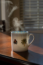 Hot Cup Of Coffee (Morning)
