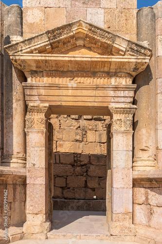 Fotografia, Obraz  Coloseum Entry Jarash Jordan