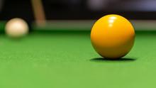 Ball On Pool Table