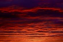 Cloudscape Of Fierce Orange Ti...