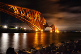 forth rail bridge, forth, scotland, uk.