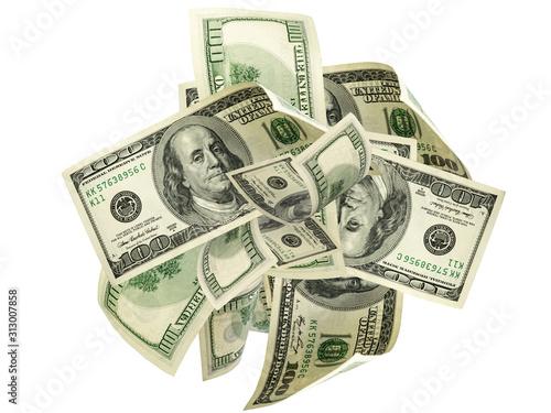 Fotomural Us dollar