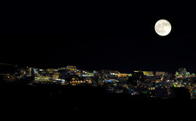 Night Lights Of Santorini As T...
