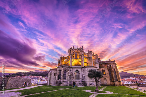 Photo Assumption of the Blessed Virgin Mary Church and ruins of San Pedro hermitage in