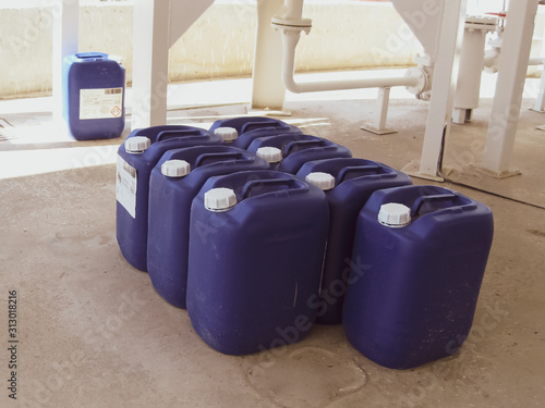 Photo Canisters with ammonia