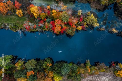 Fototapeta New England Autumn Splendor  obraz