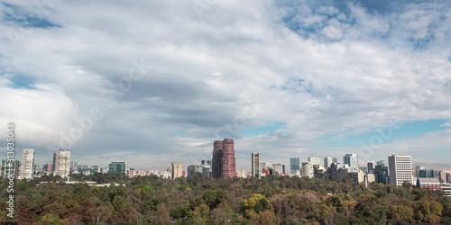 Fototapety, obrazy: Vista Panorámica desde Chapultepec en Ciudad de México