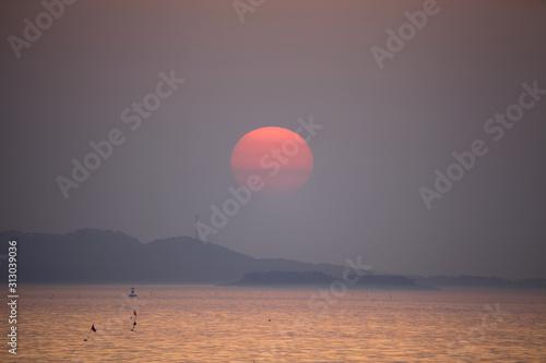 Fototapety, obrazy: beautiful sunset