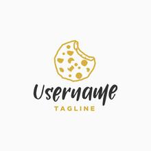 Cookies Logo Design Inspiration . Biscuit Logo Design Template . Cookie Icon Design