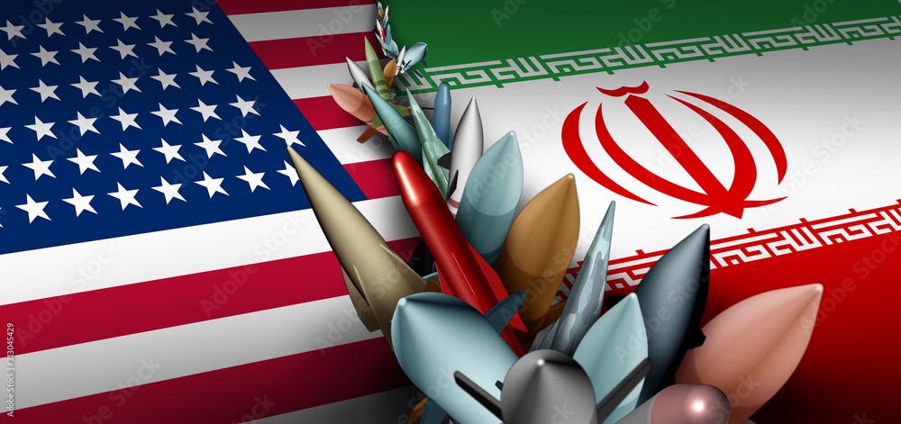 Fototapeta Iran US Military Crisis