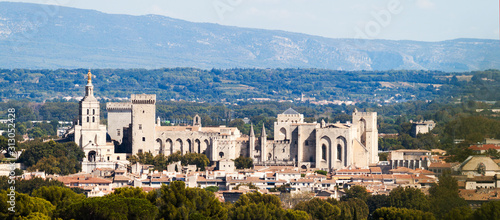 vue sur Avignon Tapéta, Fotótapéta