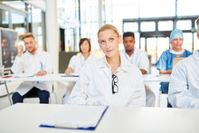 Doctors In A Seminar For Further Education