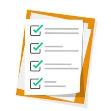 Checklist, Complete Tasks, To-...