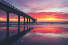 Sunrise At New Brighton Pier, ...