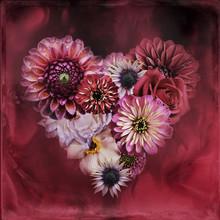 Flower Heart, Flower Arrangeme...