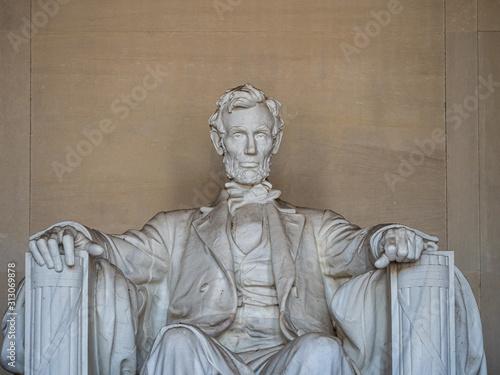 Photo Washington DC, District of Columbia, United States of America : [ Abraham Lincol