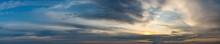 Fantastic Clouds At Sunrise