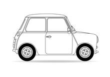 Britisches Auto Kleinwagen